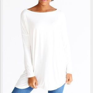 PIKO Ivory Long Sleeve Top
